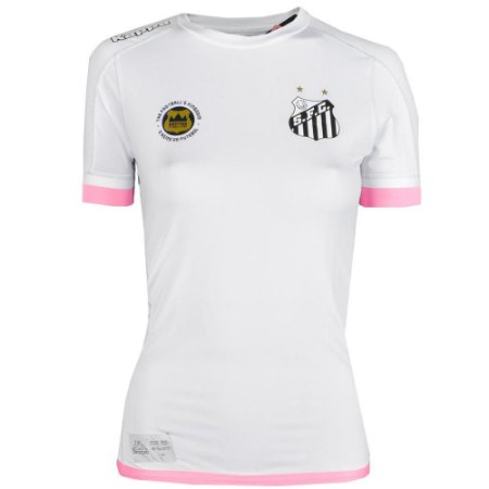 Camisa Santos Jogo I Kombat Feminina 2017 Kappa