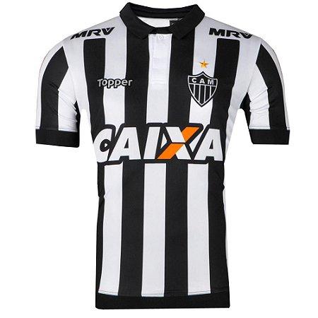 Camisa Atlético Jogo I Nº10 2017 Topper