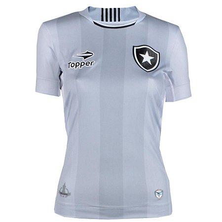 Camisa Botafogo Jogo III Feminina 2016 Topper