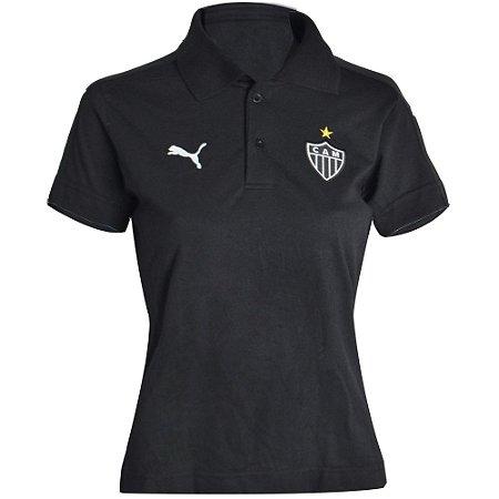 Camisa Polo Atlético Viagem Comissão Técnica Feminina 2015 Puma