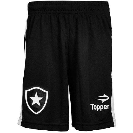 Calção Botafogo Jogo l Juvenil 2016 Topper