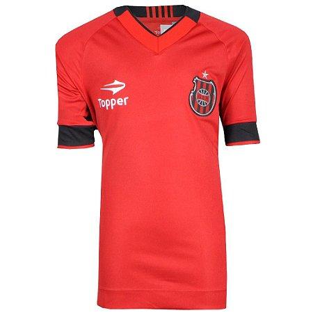 Camisa Brasil de Pelotas Jogo I Juvenil Nº10  2016 Topper