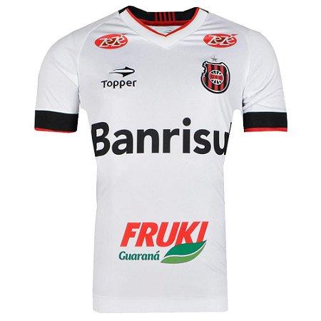 Camisa Brasil de Pelotas Jogo II Nº 10 2016 Topper