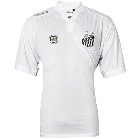Camisa Santos Jogo I Official Tamanho Especial 2016 Kappa