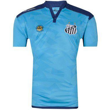 Camisa Santos Goleiro III Official Plus SIze 2016 Kappa