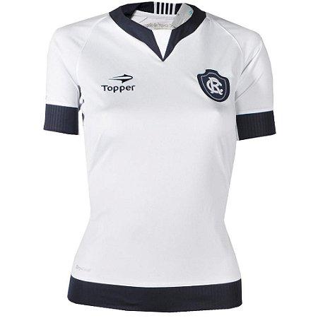 Camisa Remo Jogo II Feminina Sem Número 2016 Topper