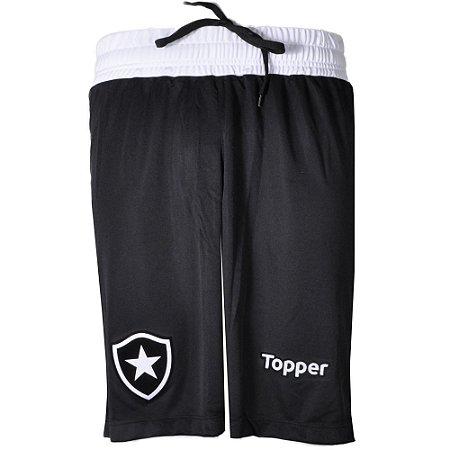 Calção Botafogo Jogo I 2017 Topper