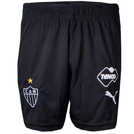 Calção Atletico Jogo I Kit Juvenil 2015 Puma
