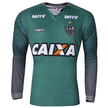 Camisa Atlético Goleiro III Manga Longa 2017 Topper