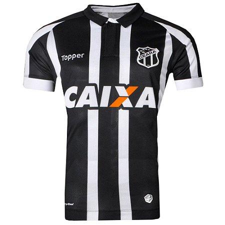 Camisa Ceará Jogo I Nº10 Sem Patrocínio 2017 Topper