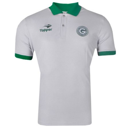 Camisa Goiás Pólo Viagem Atleta 2017 Topper