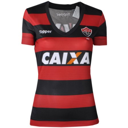 Camisa Vitória Jogo I  Feminina 2017 Topper