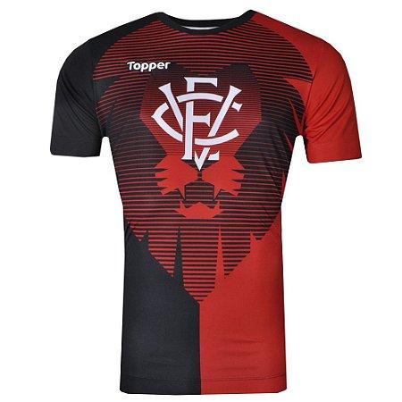 Camisa Vitória Aquecimento 2017 Topper