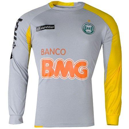Camisa Coritiba Goleiro IV ML Lotto 2010