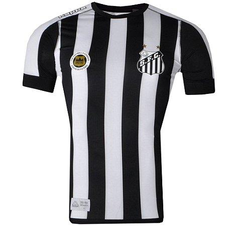 Camisa Santos Jogo II Official Plus Size 2017 Kappa