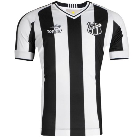 Camisa Ceará Jogo I  C/Nº 2016 Topper