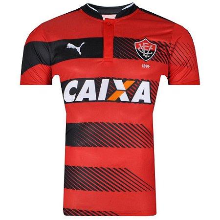 Camisa Vitoria Jogo I Numero 10 Tamanho Especial 2016 Puma