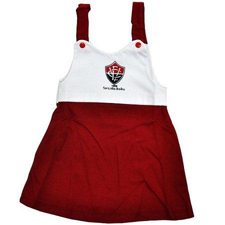 Vestido Infantil de Alça Vitória
