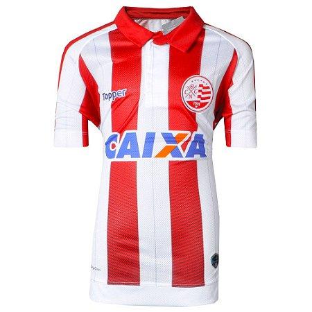 Camisa Náutico Jogo I  Juvenil 2017 Topper