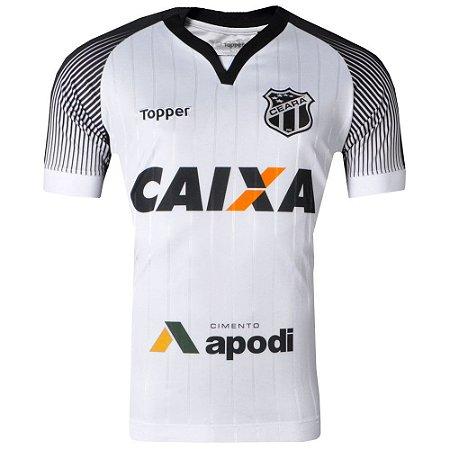 Camisa Ceará Jogo II n° 10 2017 Topper
