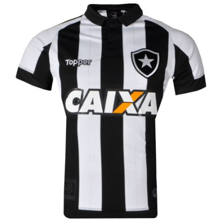 Camisa Botafogo Jogo I Sem Número C/Patrocínio 2017 Topper