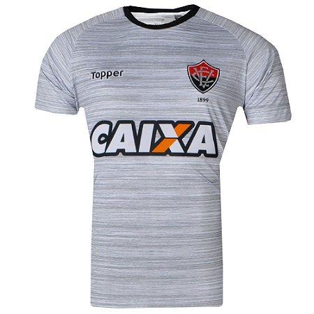 Camisa Vitória Treino Atleta 2017 Topper