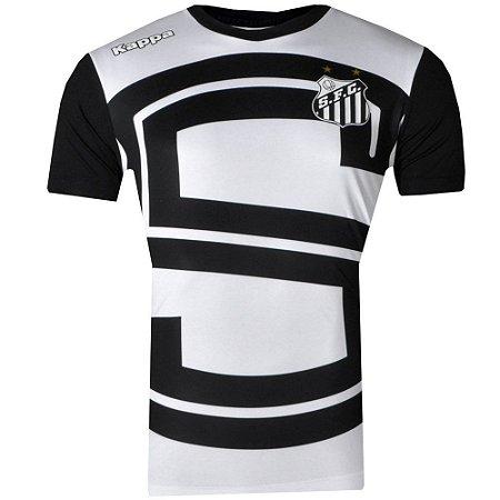 Camisa Santos Aquecimento I 2017 ST Kappa