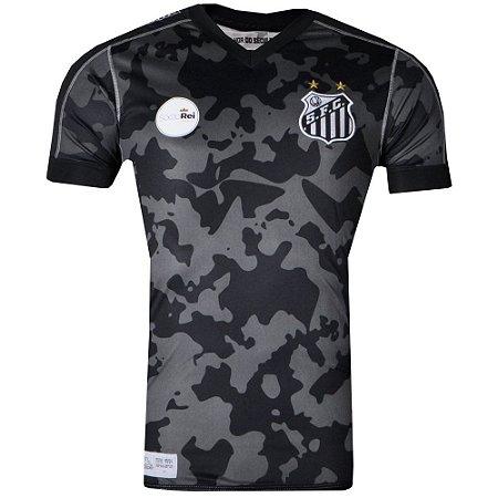 Camisa Santos Jogo III Official 2017 ST Kappa