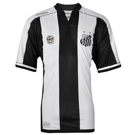 Camisa Santos Jogo II Official Plus Size 2016 Kappa