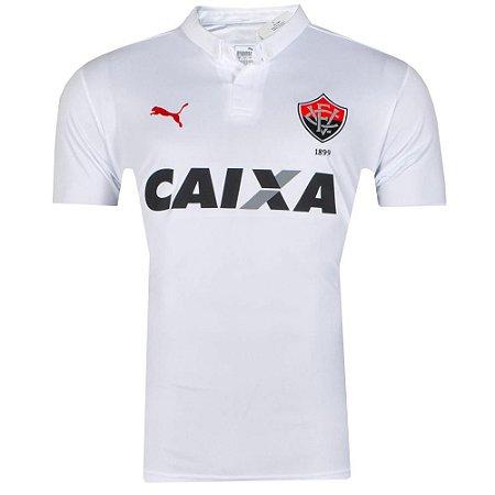 Camisa Vitória Jogo II Número 10 2016 Puma
