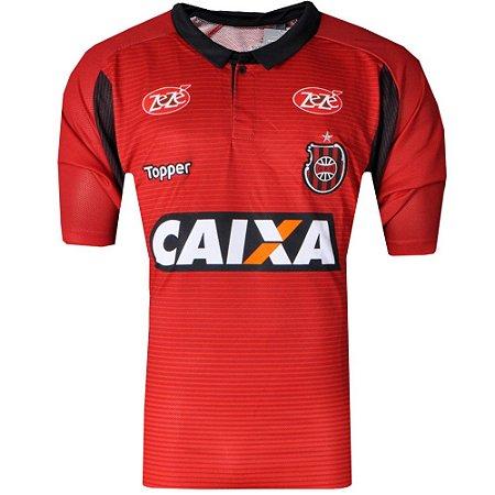 Camisa Brasil de Pelotas Jogo I  Plus Size 2017 Topper