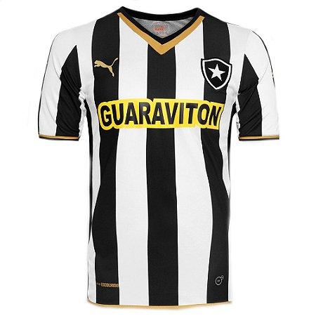 Camisa Botafogo Jogo I CPatrocínio 2014 Puma