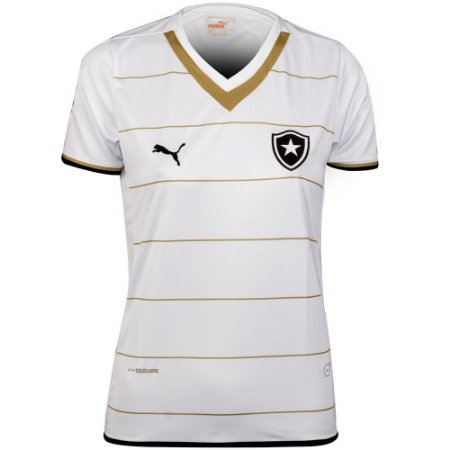 Camisa Botafogo Feminina Jogo II 2014 Puma