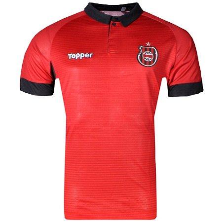 Camisa Brasil de Pelotas Jogo I S/Patrocínio 2017 Topper