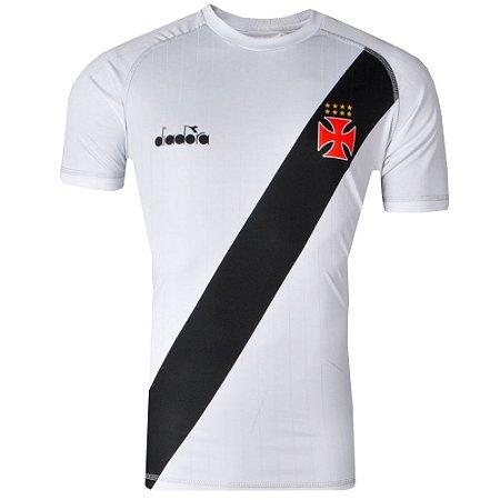 Camisa Vasco Jogo II Torcedor 2018 Diadora  5604f9d2839d9