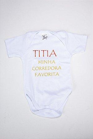 Body Titia Corredora Favorita
