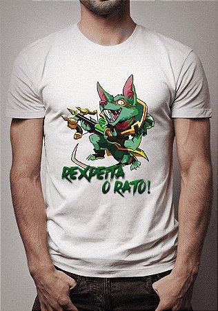 Camiseta Twitchinho Rexpeita o Rato