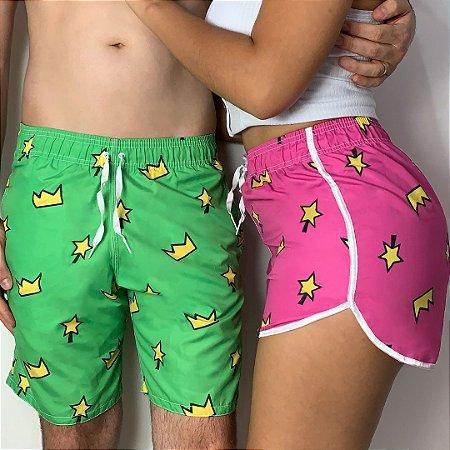 Kit shorts verão Cosmos e Wanda + Frete Grátis