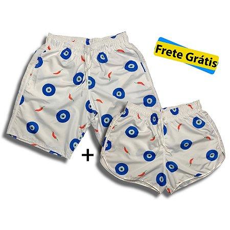 Kit Shorts Mozão Olho Grego + Frete Grátis