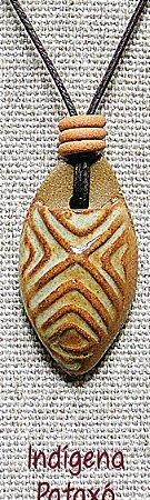 Difusor Aromático Pessoal – Indígena Pataxó Palha (porcelana)