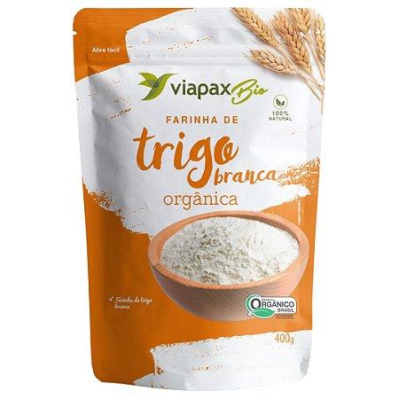 Farinha de Trigo Branca Orgânica - Viapax 400g