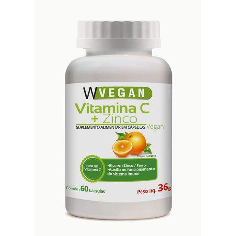 Vitamina C + Zinco Vegan - WVegan 36g