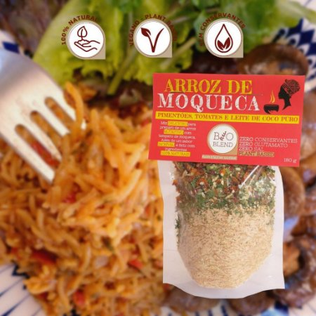 Arroz de Moqueca 100% Natural - 180g Bioblend