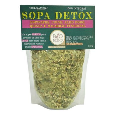 Sopa Detox 100% Natural - 130g Bioblend