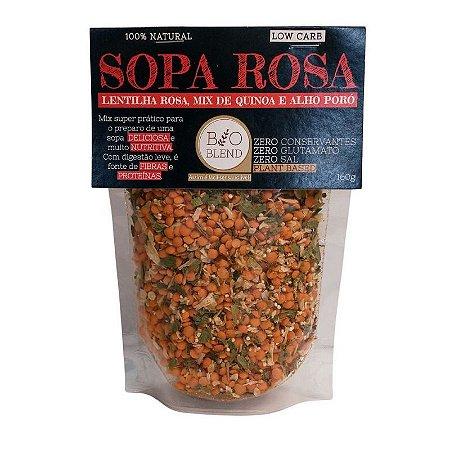 Sopa Rosa 100% Natural - 160g Bioblend