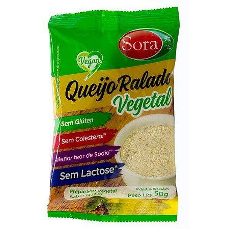 Queijo Ralado Vegetal Vegano 50g Sora