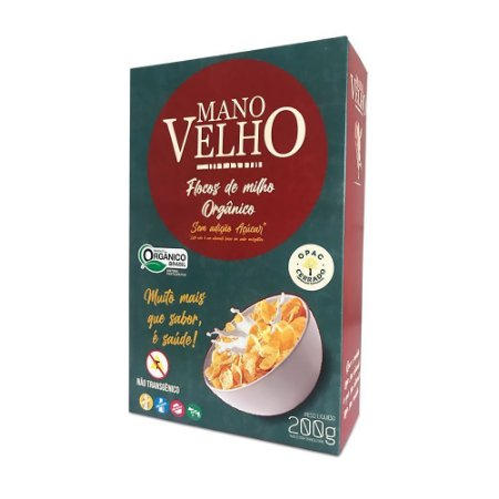 Cereal Orgânico 200g - Mano Velho