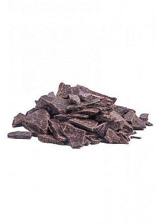 Lascas de Chocolate 70% Sem Açúcar com Castanha do Pará - a granel
