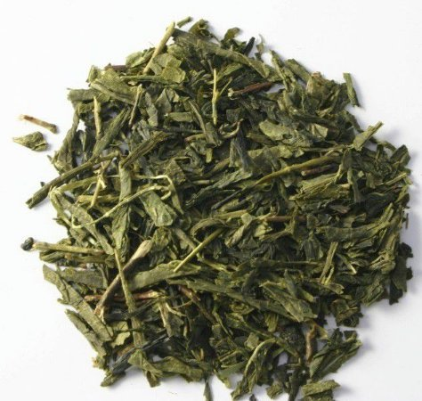 Chá verde em folhas - a granel