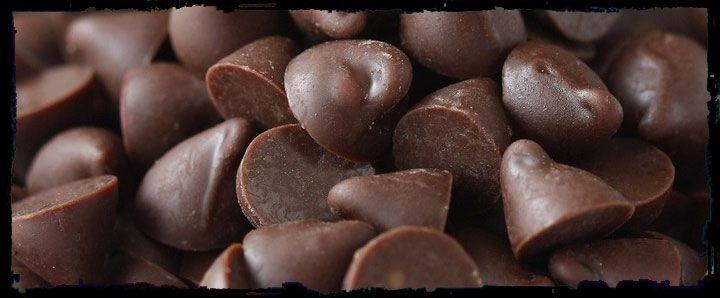 Gotas de chocolate 70% cacau - a granel
